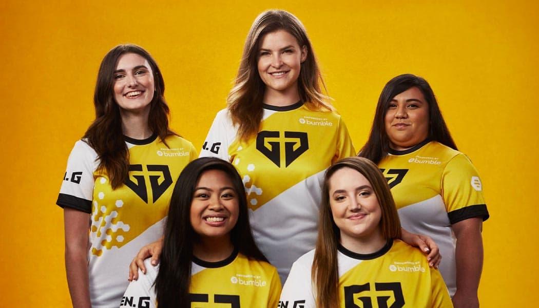 All-Women Fortnite Team