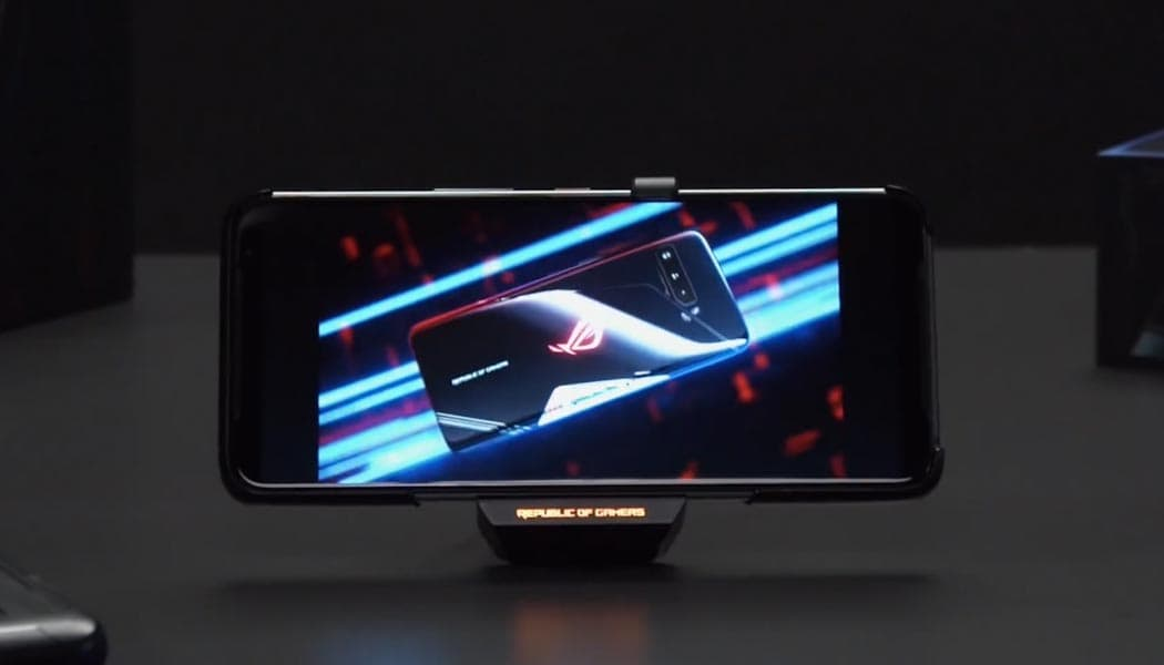 Asus teams up with qualcomm on mobile gaming phones