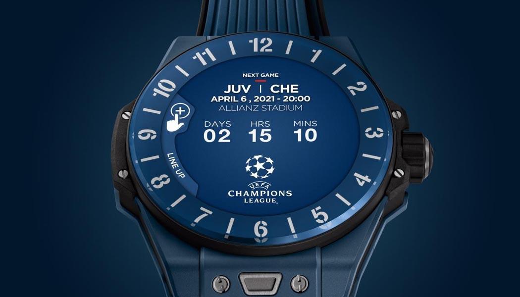 Big Bang E UEFA Champions League wearable