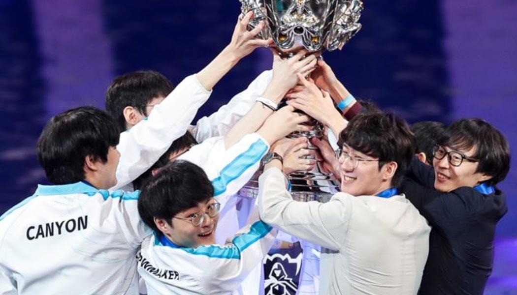 Damwon Gaming Win 2020 League of Legends World Championship