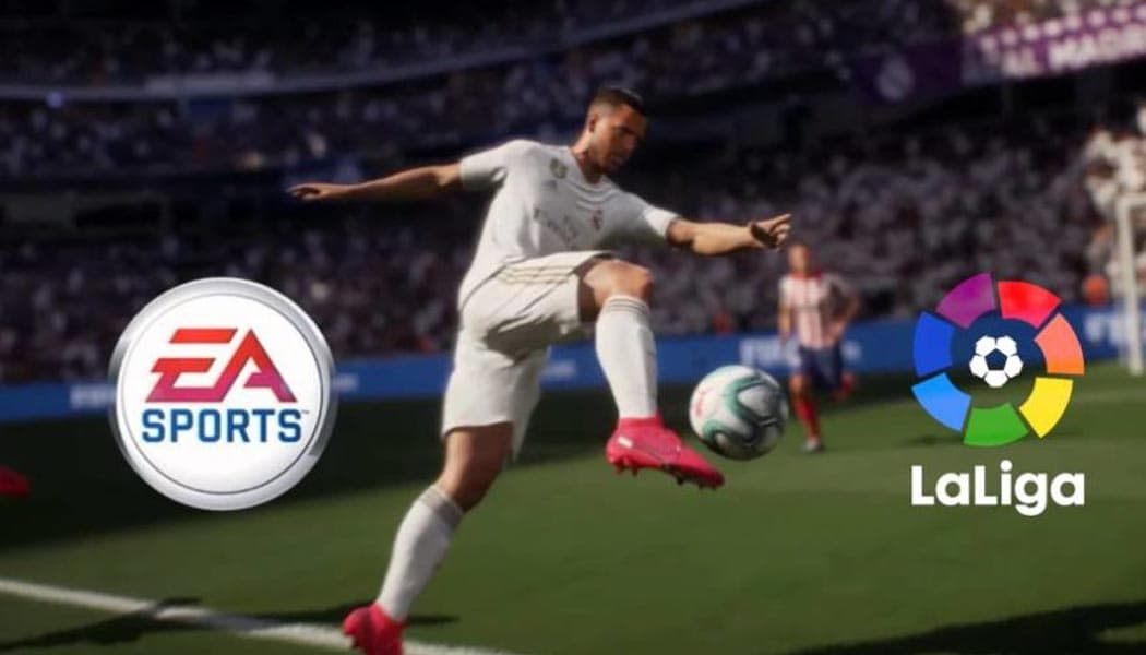 EA Renews La Liga FIFA License