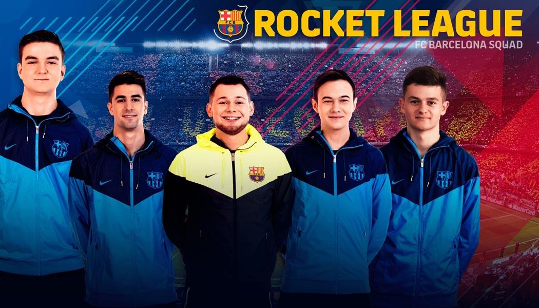 FC Barcelona Disbanding Rocket League Team