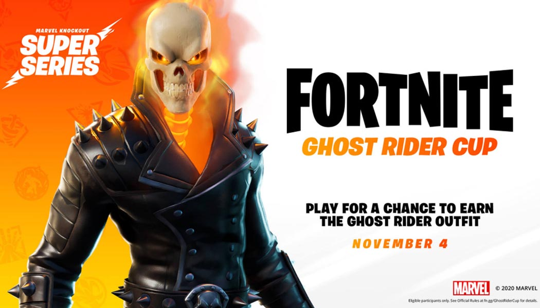 Fortnite Ghost Rider Cup