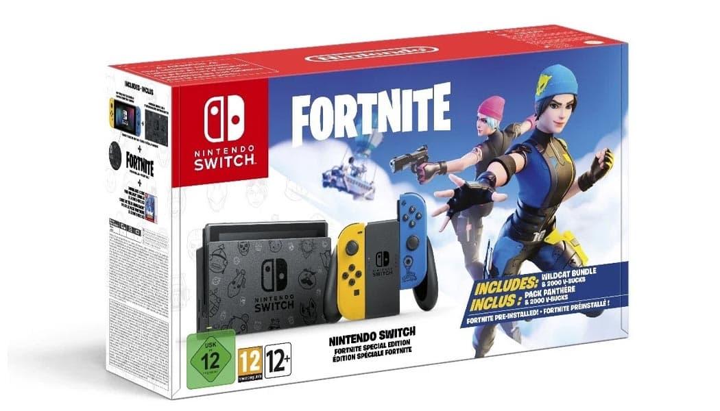 Fortnite Themesed Nintendo Switch Released