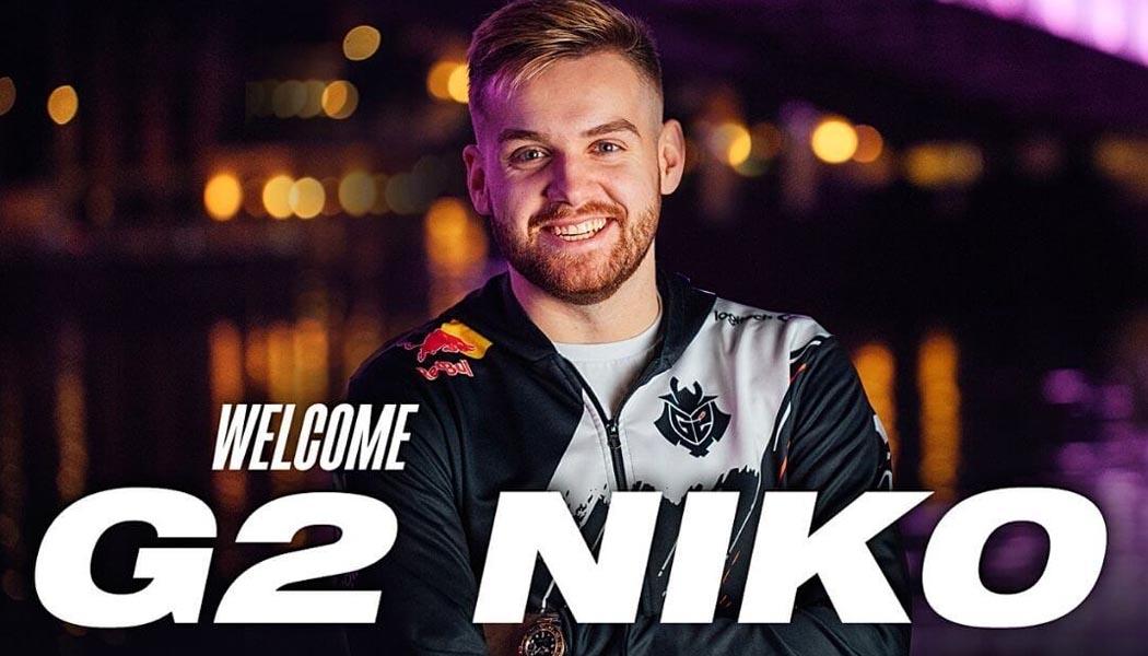 G2 signs NiKo