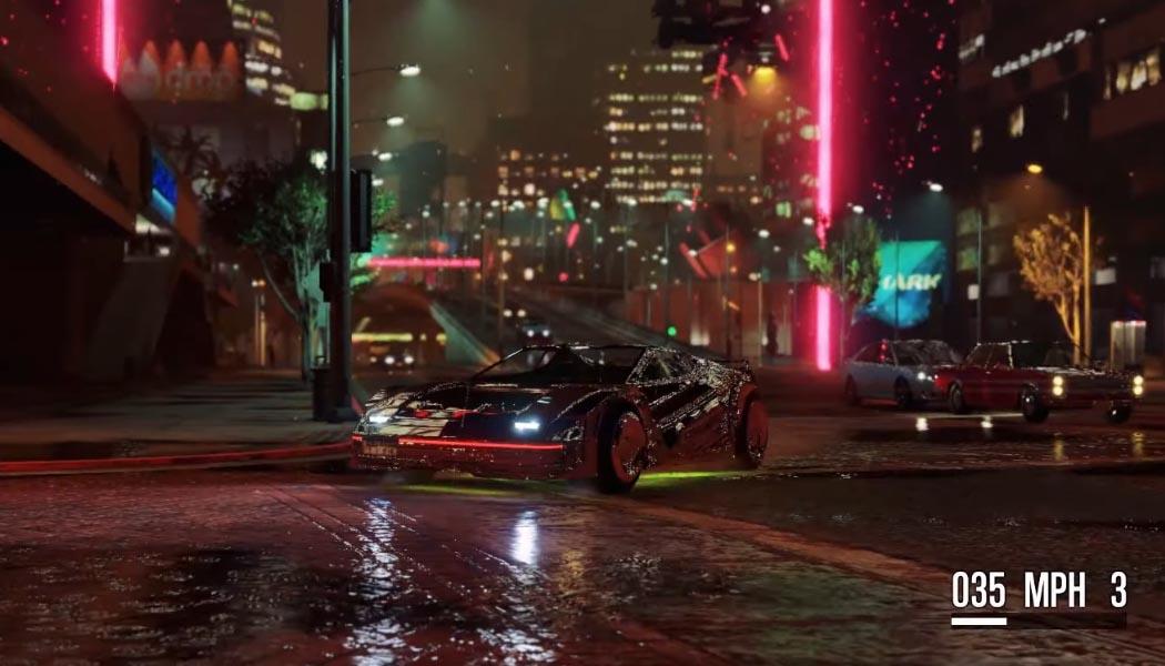 GTA 5 Meets Cyberpunk 2077