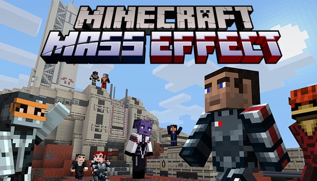 Minecraft and Mass Effect