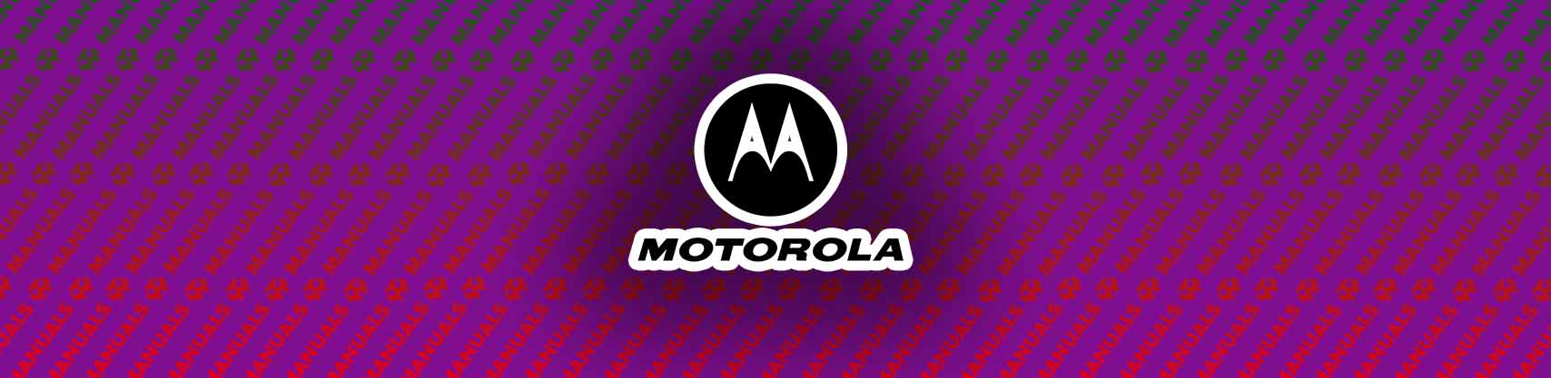 Motorola E4 Manual