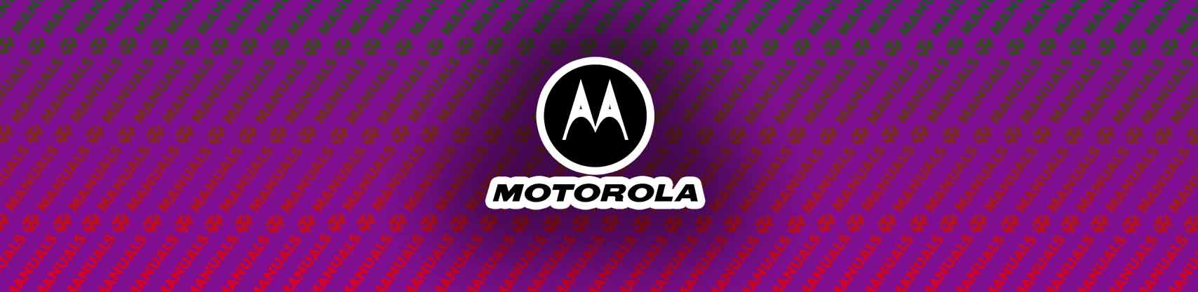 Motorola MH230R Manual