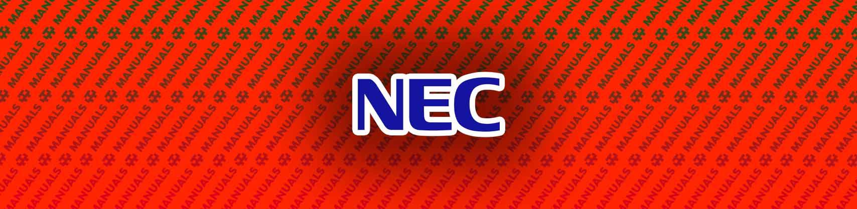 NEC SL1100 Manual