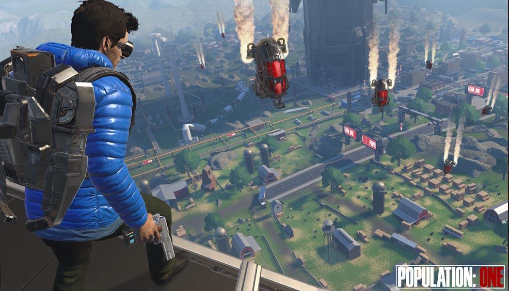Population One Battle Royale Oculus