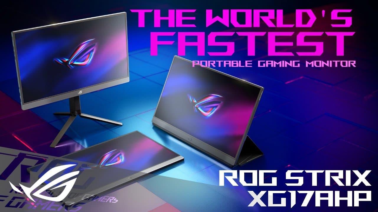 ROG Portable Gaming Monitors