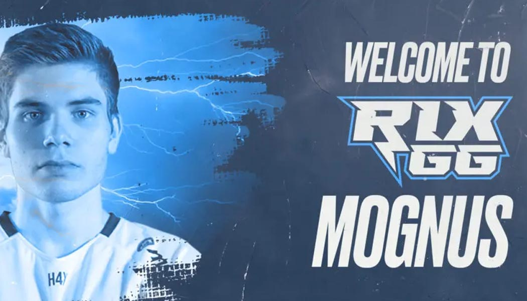 Rix GG Mognus joins