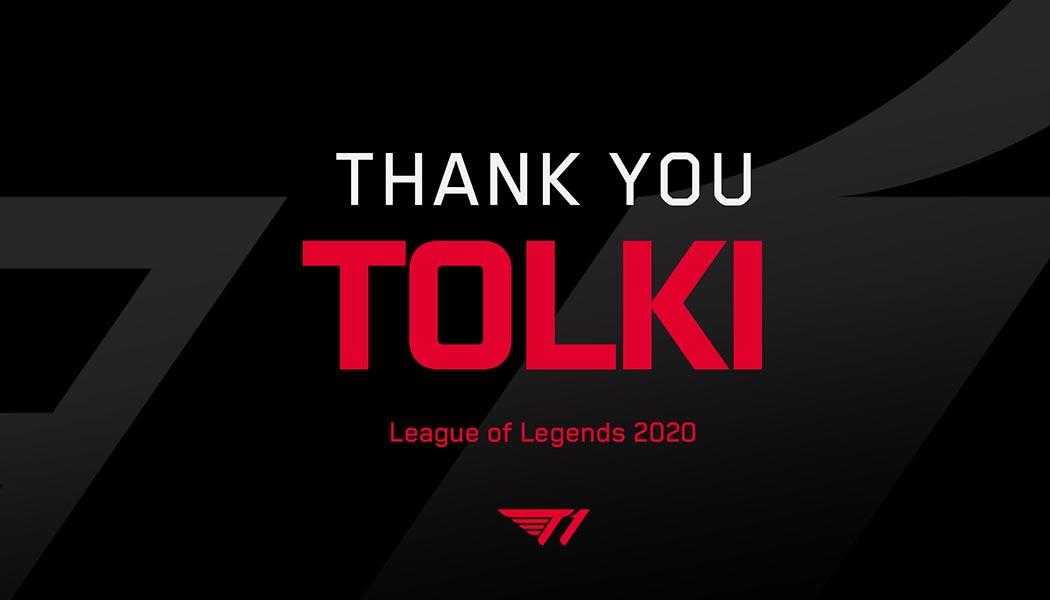 Tolki Leaves LoL