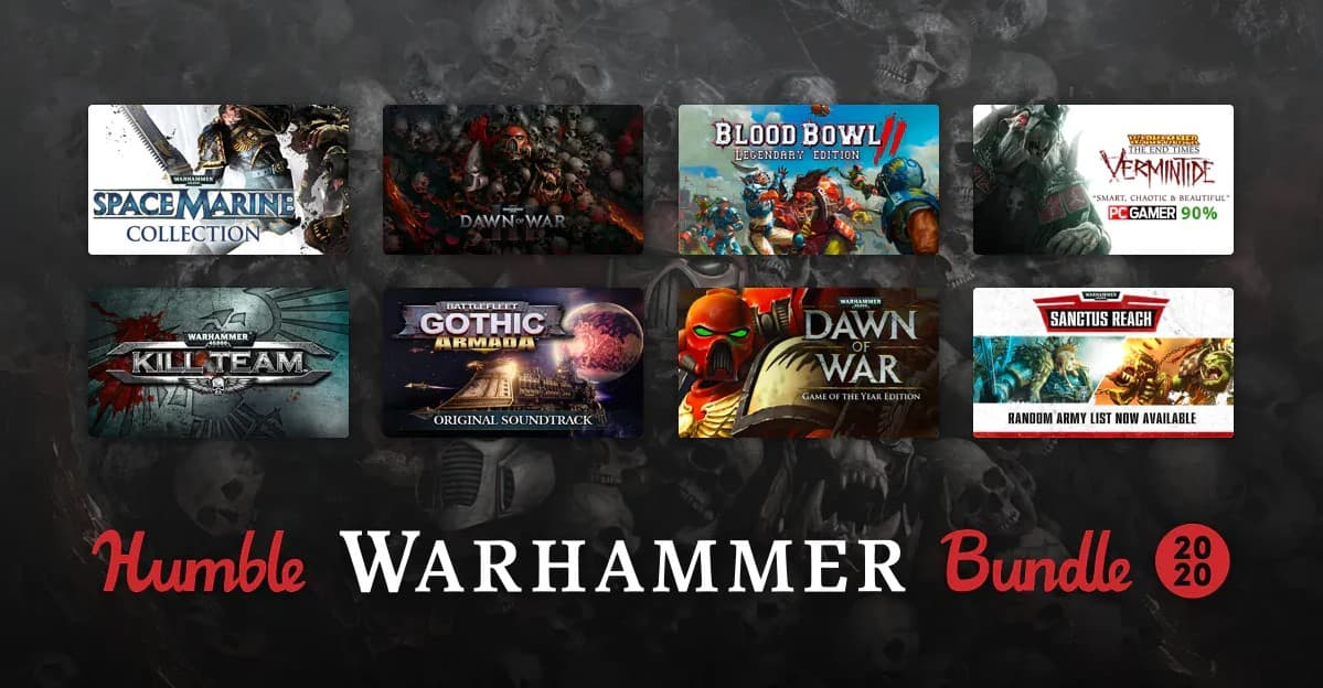 Warhammer Classics Humble Bundle