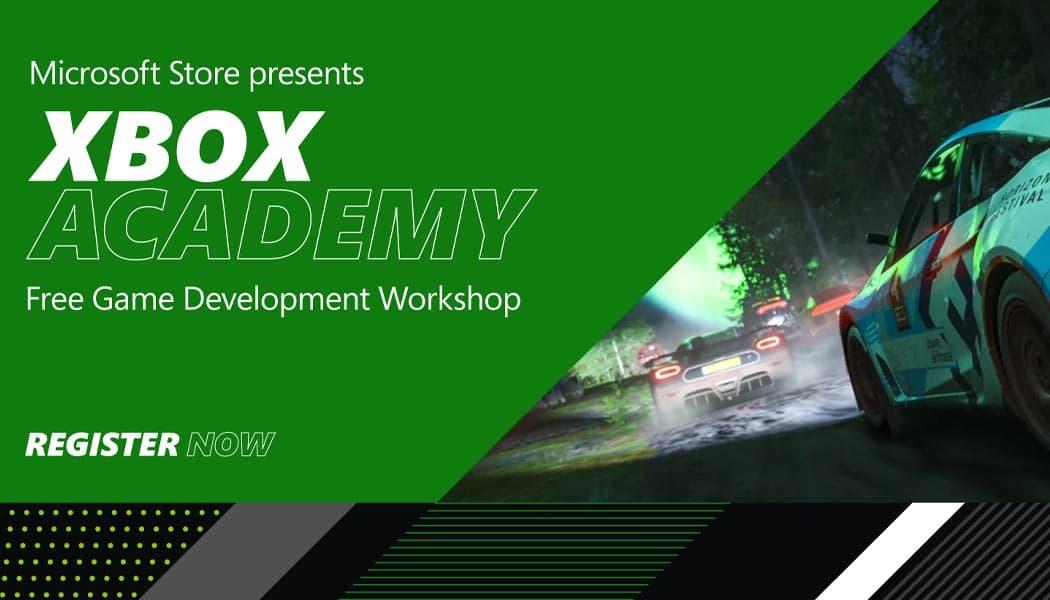 Xbox Academy Free Game Development Workshop