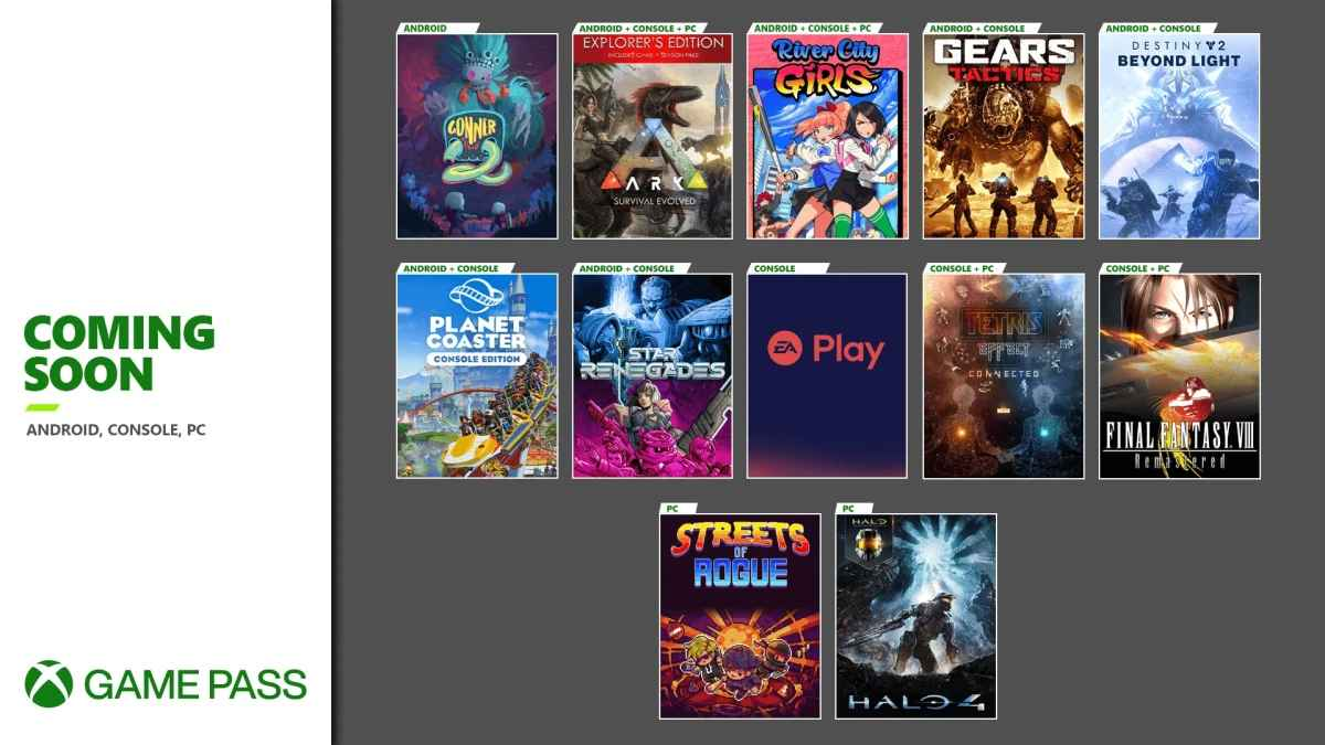 xbox game pass EA library